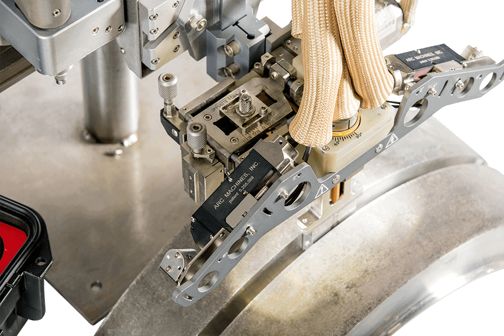 A high-quality vision system allows in-process weld monitoring.