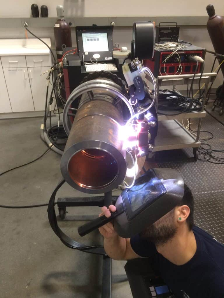 Orbital welding hazards can be minimized with proper training and daily attention to risk factors.