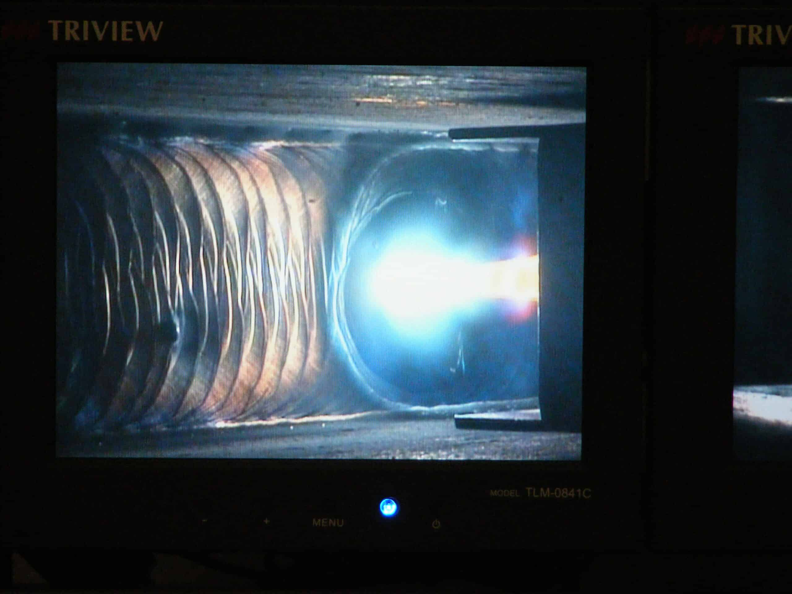 Computer vision systems can have trouble differentiating the weld puddle and arc from the surrounding metal.