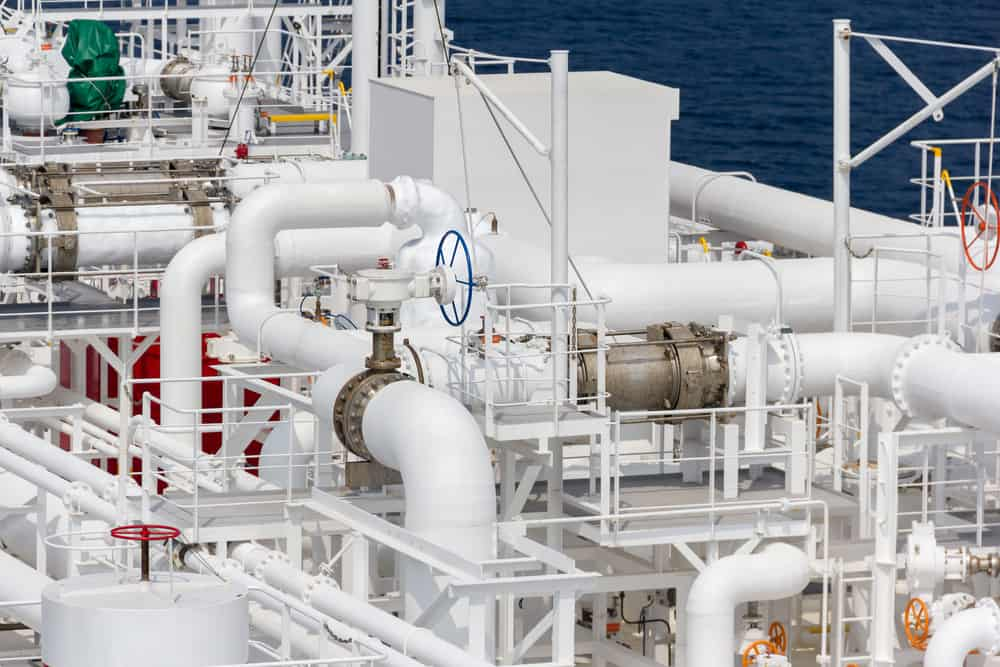 Piping systems onboard a ship