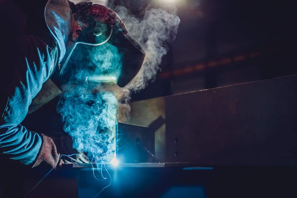 Welder needs more adequate welding ventilation