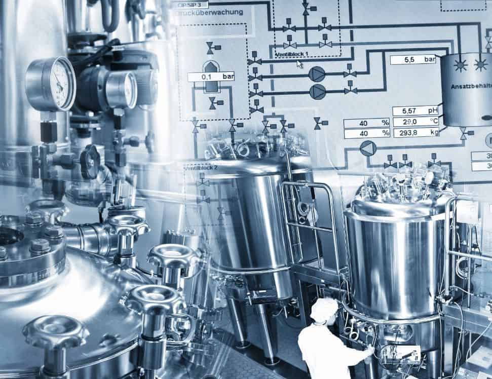 Pharmaceutical manufacturing plant practicing pharmaceutical welding standards