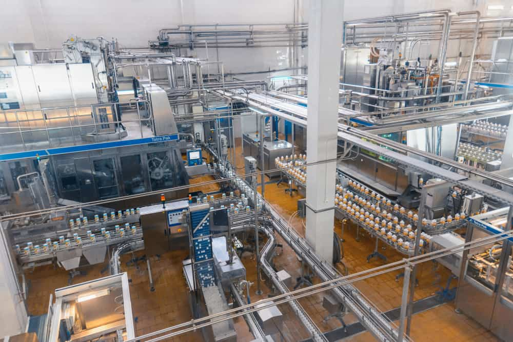 An automated manufacturing system