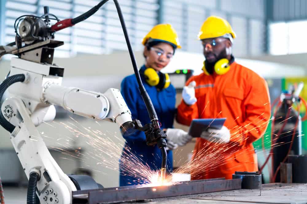 Offline testing when programming welding robots