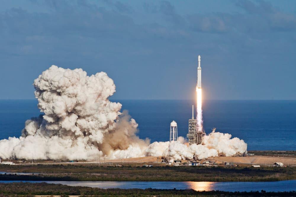 Image illustrates rocket launch costs